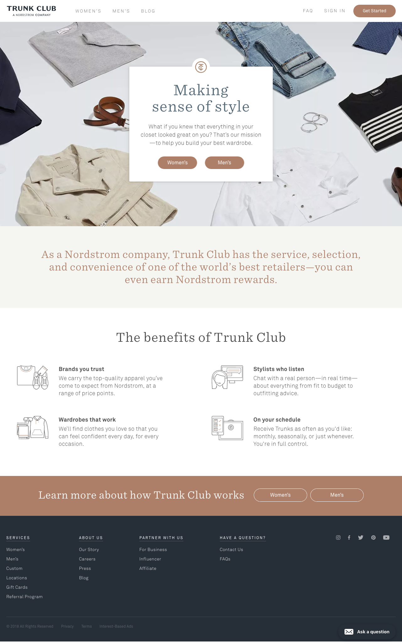 Trunk Club runs on Statamic